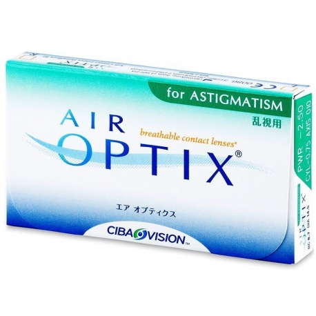 Air Optix Aqua for astigmatism